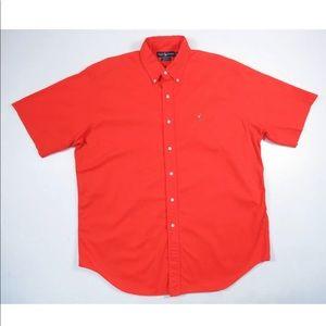 Ralph Lauren Pony Short Sleeve Button Front Shirt